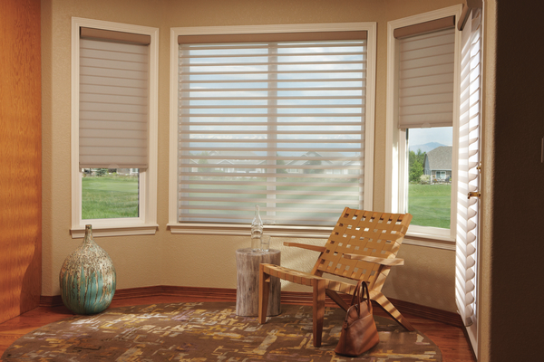 Silhouette window shadings are available in a beautiful palette of designer colors and a wide variety of applications.