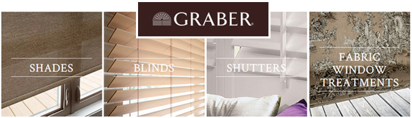 Explore the possibilities with the entire Graber product line, from blinds to shades and shutters to draperies. Combine various product styles and options to create a detailed, layered effect. For example, start with a cellular shade, add complementary draperies, and finish the look with a coordination top treatment. - Drapery - Fabric Roman Shades - Fabric Wrapped Cornices - Board-Mounted Valances - Rod-Mounted Valances