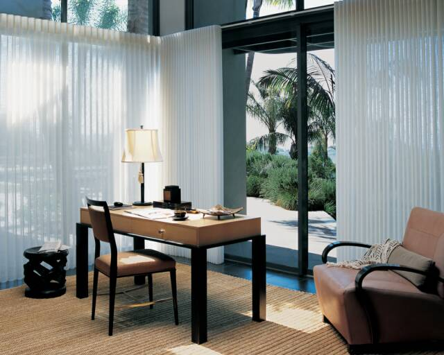 Hunter Douglas Luminette Vertical Curtains - Seacoast, NH