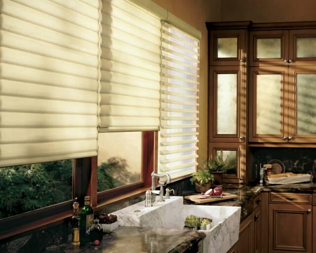 Nh Horizontal Louver Curtains Bayside Blind Amp Shade