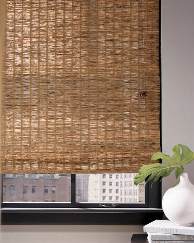 Nh Natural Grass Amp Wood Shades Bayside Blind Amp Shade