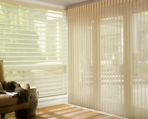 Hunter Douglas Drapery Shadings: Vertical & Horizontal Seacoast NH
