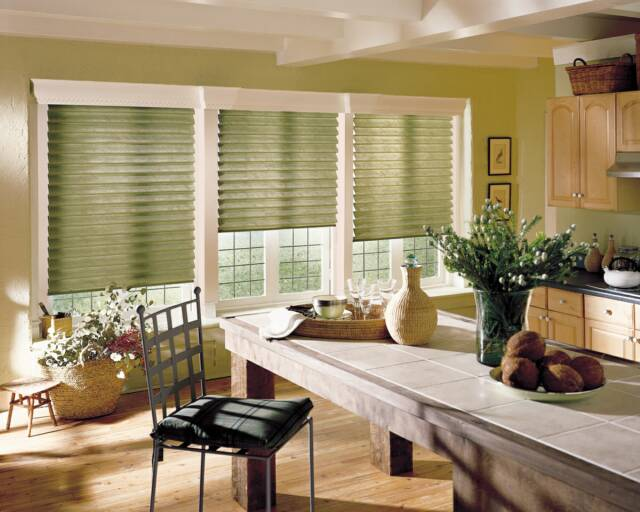 Beau Hunter Douglas Vignette Roman Curtains   Seacoast, NH